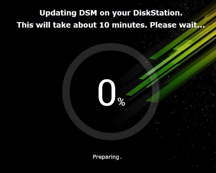 Updaten in DSM 5.0