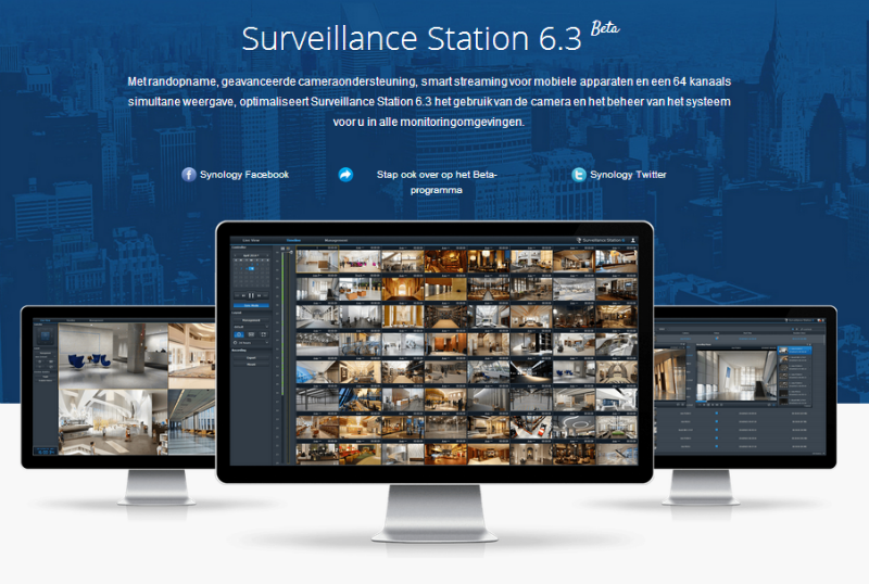 Surveillance Station 6.3