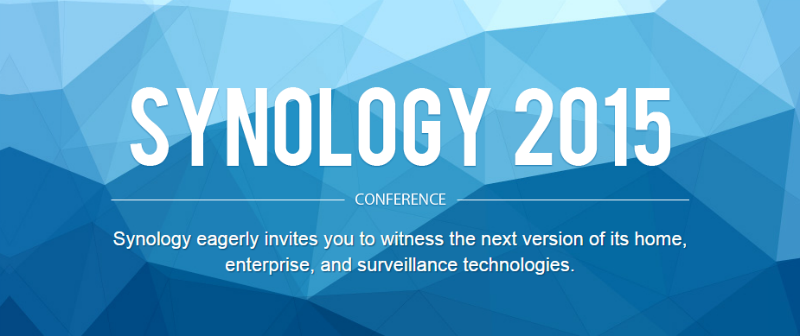 Synology Conference 2015