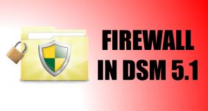 Firewall in DSM 5.1