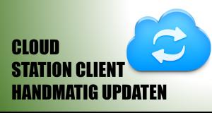 Cloud Station Client handmatig updaten