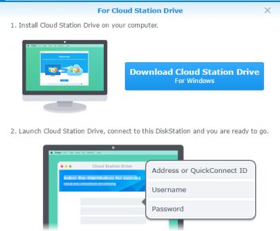 Cloud Station Drive