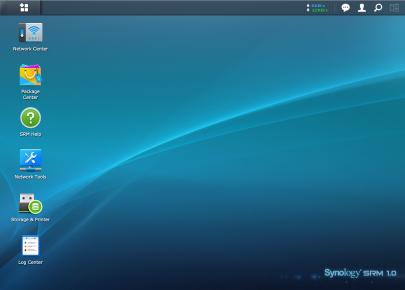 Screenshot van SRM